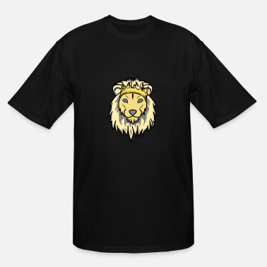 León King Leon Fantasy - Men's Tall T-Shirt
