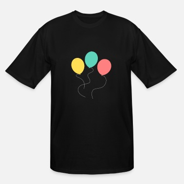 Balloon A balloon, two balloons, three balloons! - Men's Tall T-Shirt