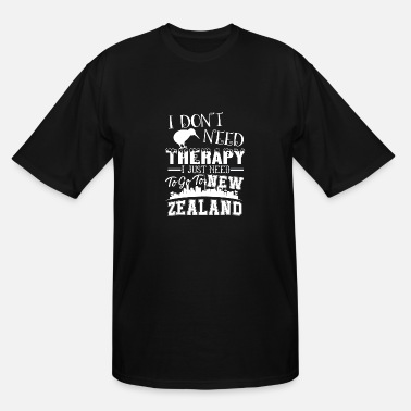 New Zealand Therapy New Zealand Therapy Shirt - Men's Tall T-Shirt