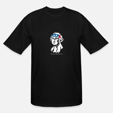 American President President George Washington American Patriot - Men's Tall T-Shirt