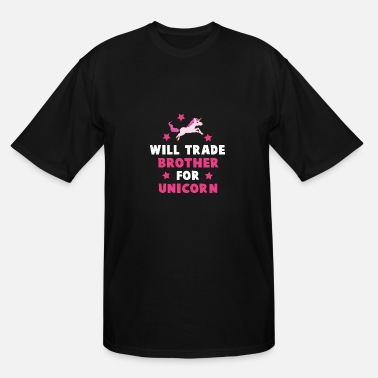 Trade will trade brother - Men's Tall T-Shirt