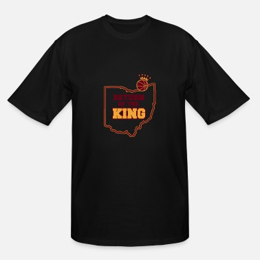 Return Of The King Return of the king- Cleveland Basketball Fan - Men's Tall T-Shirt