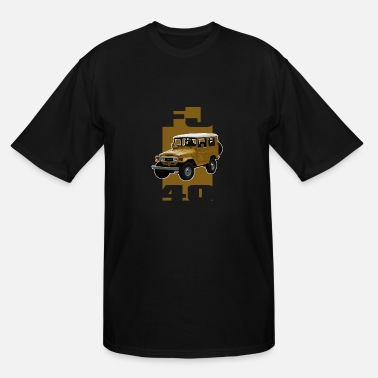 Ih8mud Yellow FJ40 Stripe - Men's Tall T-Shirt