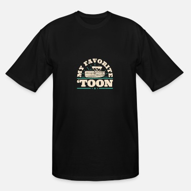 Pontoon Pontoon Owner This tee shirt with a distressed des - Men's Tall T-Shirt