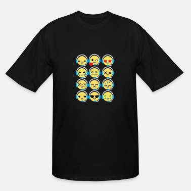 Workaholic Workaholics Emojie - Men's Tall T-Shirt