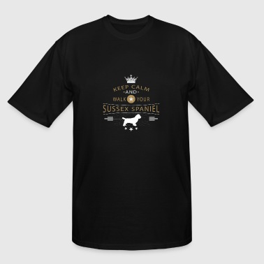 Sussex Spaniel - Men's Tall T-Shirt