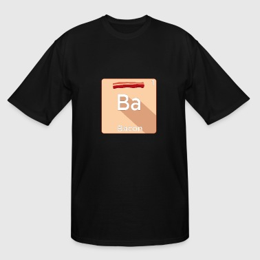 Bacon Periodic Table Of Elements - Men's Tall T-Shirt