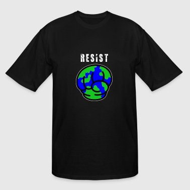 Resist Climate Resist Climate Change - Men's Tall T-Shirt