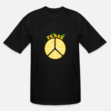 Children Peace Peace Lemons Lemon Kids Children Design - Men's Tall T-Shirt