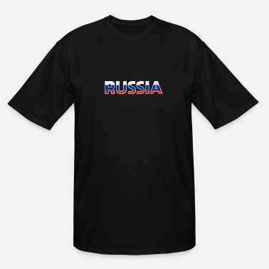Russia Russia gift Vodka flag military - Men's Tall T-Shirt