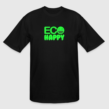 Environmental Recycle Eco Happy - Men's Tall T-Shirt