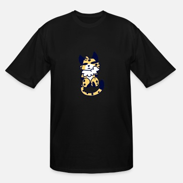 Furry Furry Edwin - Men's Tall T-Shirt