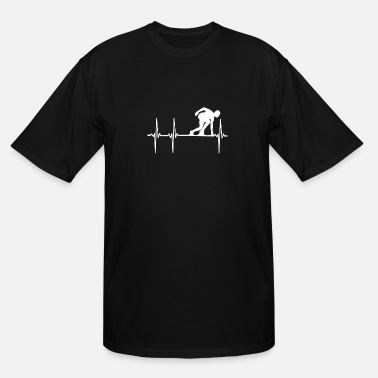 Running Heartbeat Love Running Heartbeat - Men's Tall T-Shirt