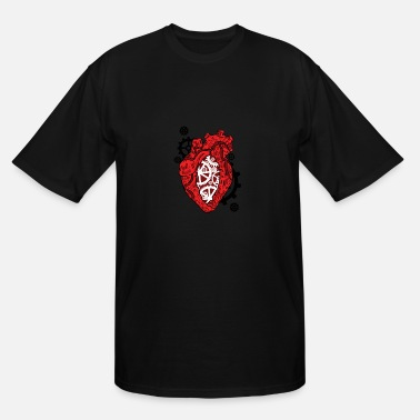 Medical Science Liaison Anatomical Heart. Mechanism. Cardiology Heart - Men's Tall T-Shirt