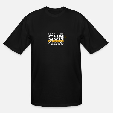Mafioso Leave the gun | epic movie quotes shirt godfather - Men's Tall T-Shirt