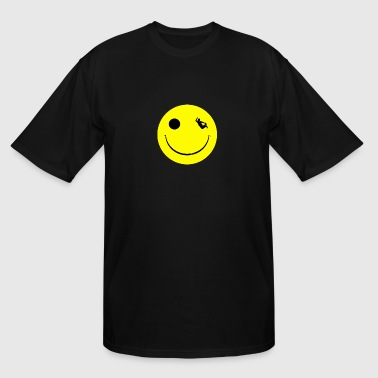 Skater Happy Halfpipe Sk8 - Men's Tall T-Shirt
