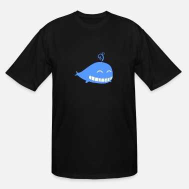 Beached Whale Whale - Men's Tall T-Shirt