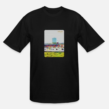 Press Geek Press Play - Men's Tall T-Shirt