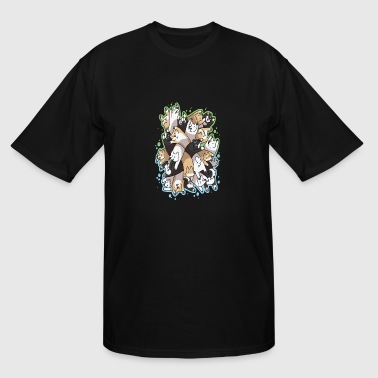 Dog Pile - Men's Tall T-Shirt