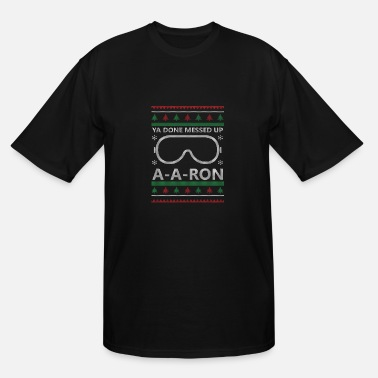 Rons A-A-Ron Christmas - Men's Tall T-Shirt