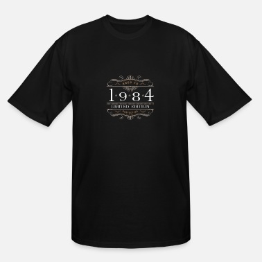 Vintage Premium Quality 1984 Aged To Perfection Limited Edition 1984 Aged To Perfection - Men's Tall T-Shirt
