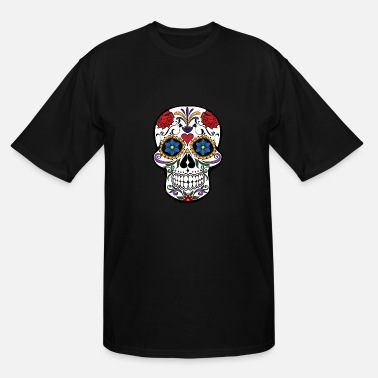 Sugar Skull - Men's Tall T-Shirt