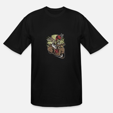 Scooter Zombie Scooter - Men's Tall T-Shirt