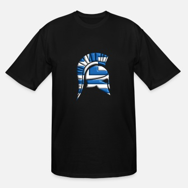 Ancient Greek ancient helmet - Men's Tall T-Shirt