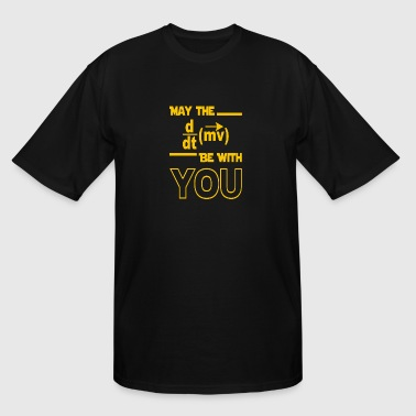 MAY THE be with you - Men's Tall T-Shirt
