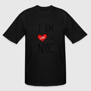 Krush I am loved in NYC - Men's Tall T-Shirt