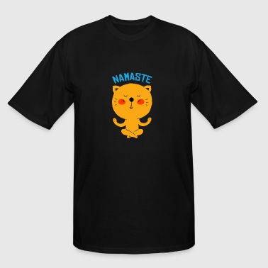 Namaste Cat NAMASTE Cat - Men's Tall T-Shirt