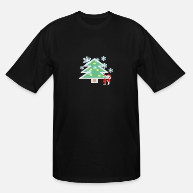 Snowing Snowing - Men's Tall T-Shirt