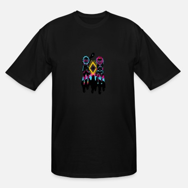 Jokes Tribal meze tribal - Men's Tall T-Shirt