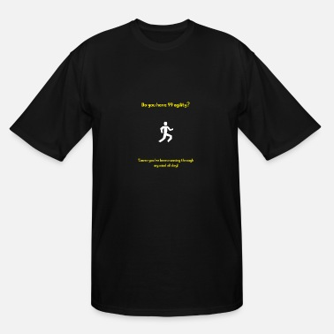Pickup Line Runescape agility pickup line - Men's Tall T-Shirt