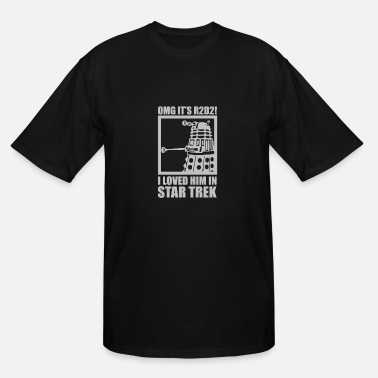 Dr Who R2D2 Dalek Star Wars Dr Who Trek - Men's Tall T-Shirt