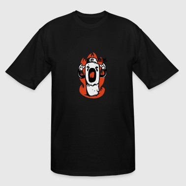 Scream Sport Scream - Men's Tall T-Shirt