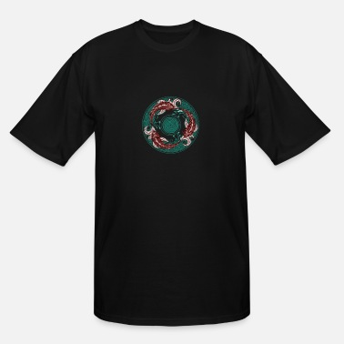 Circular Circular Swimming - Men's Tall T-Shirt