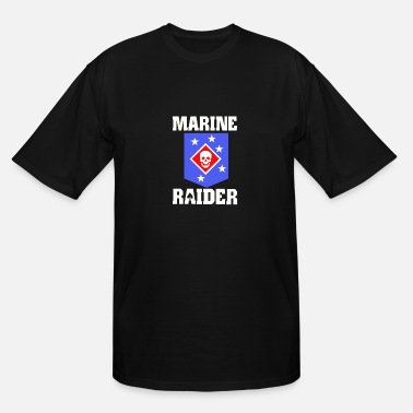 Raider Marine Raiders - Men's Tall T-Shirt