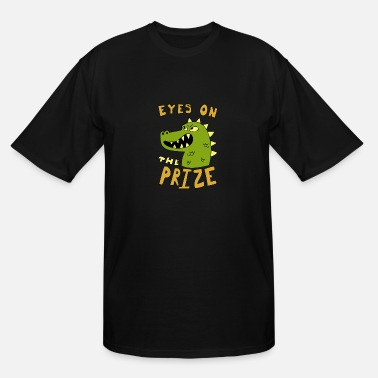 Prize Art Eyes on the prize dinosaur - Men's Tall T-Shirt