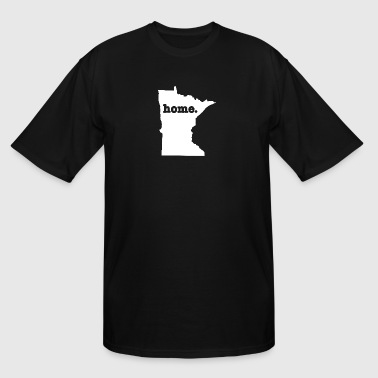 Funny Minnesota Gifts Minnesota Home - Men's Tall T-Shirt