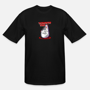 Canada Fan Toronto Fan / Canada / Sports Fan / #1 / Finger - Men's Tall T-Shirt