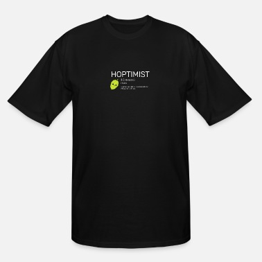 Hoptimist Beer Hoptimist - for Brewers and Craft Beer Lover - Men's Tall T-Shirt