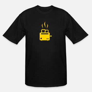 Food Breakfast toaster - breakfast - food - Men's Tall T-Shirt