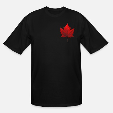 Red Canada Souvenir Maple Leaf  - Men's Tall T-Shirt