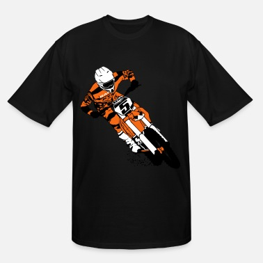 Supercross Moto Cross - Supercross - Men's Tall T-Shirt