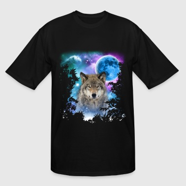 Timber Wolf Timber Wolf MidNight Forest - Men's Tall T-Shirt