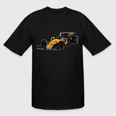 Formula One - Formula 1 - Racer - Men's Tall T-Shirt