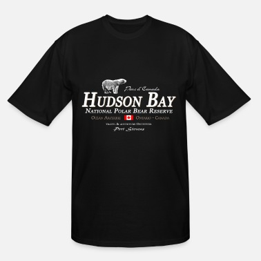 Hudson Bay Polar Bear - Bear - Hudson Bay - Canada - Men's Tall T-Shirt
