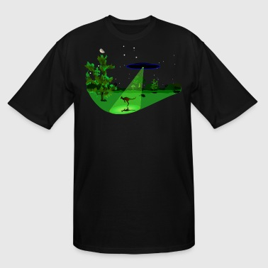 Roo Abduction - Men's Tall T-Shirt