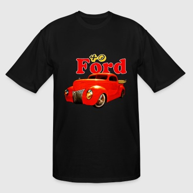 40 Ford Pickup Mug - Men's Tall T-Shirt